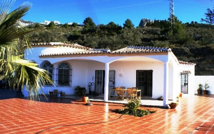 Villa mit privatem Pool und Meerblick in Canillas de Aceituno