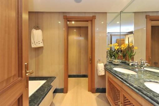 Das noble Badezimmer