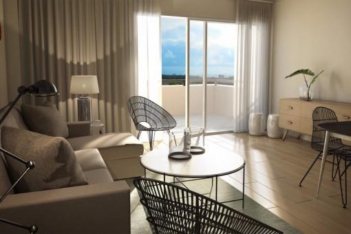 1 und 2 Zimmer Wohnung mit Vermietoption