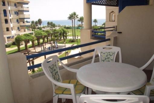 Hübsche Wohnung in Strandnähe von San Luis de Sabinillas, La Noria