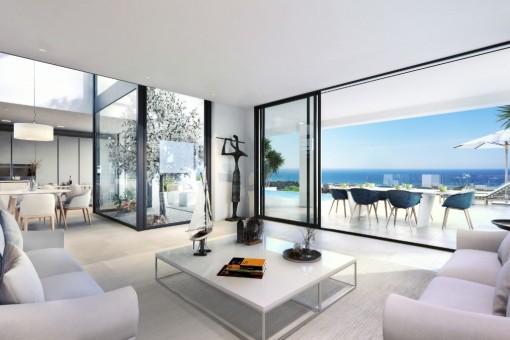 Traumhaftes Wohnzimmer