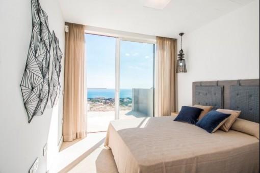 Moderne und luxuriöse Wohnungen mit traumhaften Meerblick in Benalmadena