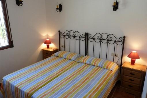 Das hübsche Schlafzimmer