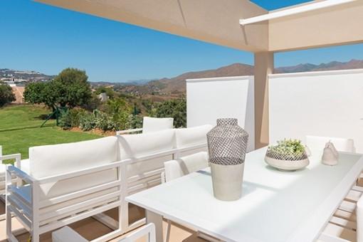 Neue Anlage von Wohnungen direkt an La Cala Golf Resort, Mijas, Malaga
