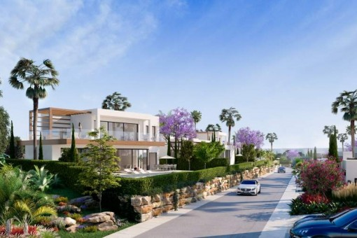 Neue Anlage von anspruchsvollen Villen, in Atalaya, Estepona