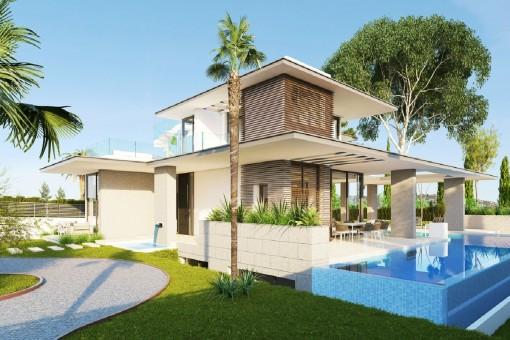 Luxuriöse Villa mit Meeresblick an der Goldenen Meile von Marbella