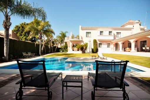 Luxuriöse Villa in Nueva Andalucia, Golf Las Brisas