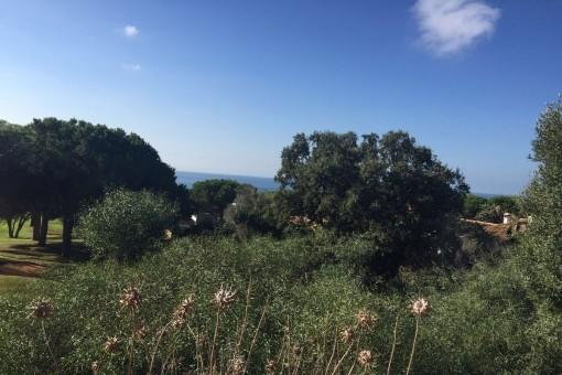 Attraktives Grundstück mit Meerblick in Marbella
