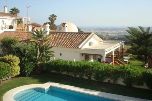 Charmante Villa mit Panoramablick in Mijas