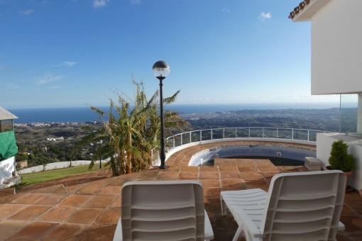 Villa mit atemberaubendem Panoramablick in Mijas