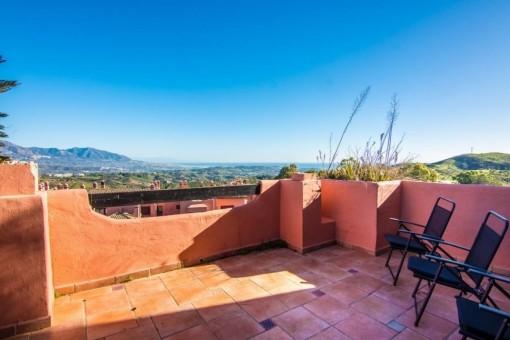 Penthouse mit herrlicher Aussicht in der Nähe von Marbella