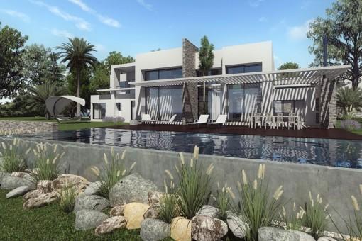 Fantastische neue Villen in Benalmádena