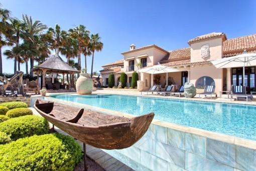 Einzigartiges Anwesen in Los Monteros Playa, Marbella-Ost