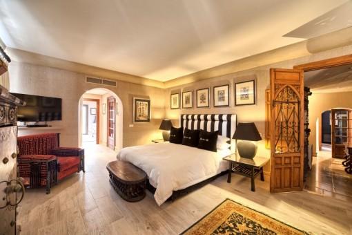 Alternativer Anblick vom Schlafzimmer en Suite