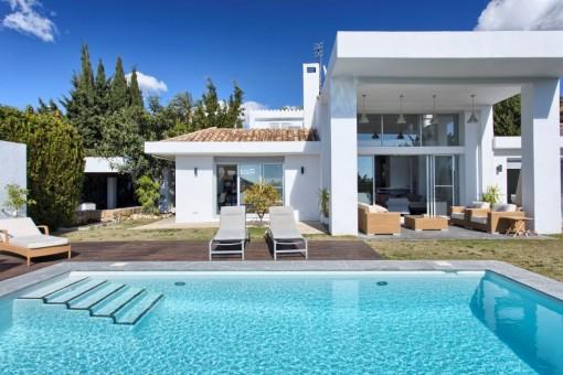 Renovierte Villa nahe Los Naranjos Golf, Nueva Andalucia, Marbella