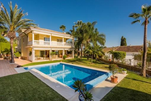 Villa mit Meerblick in el Rosario, Marbella Osten