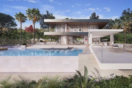 Atemberaubende moderne Villas gebaut mit den allerbesten Qualitäten