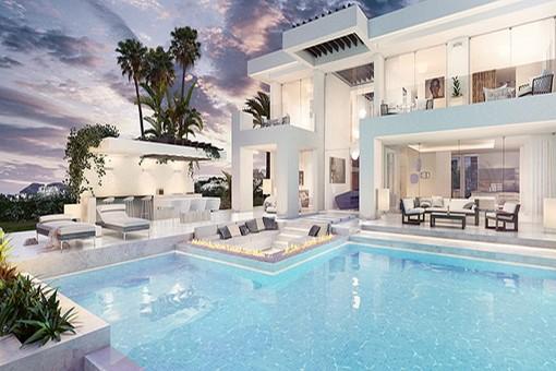 Modernes wohnen auf höchstem Niveu in Mijas Costa