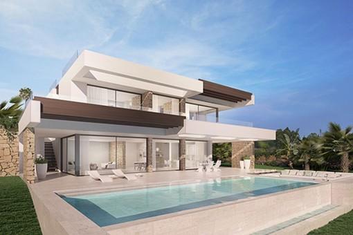 Außergewöhnliche Villa in einer sehr beliebten Gegend in Benalmádena Costa