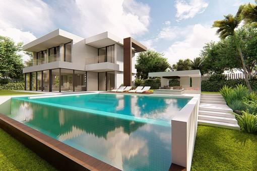 Zeitgenössiche hochwertigst gebaute Villa in Sotogrande