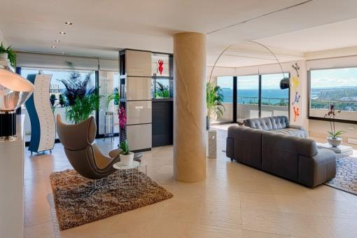 Einzigartiges und atemberaubendes Duplex Penthouse in Marbella