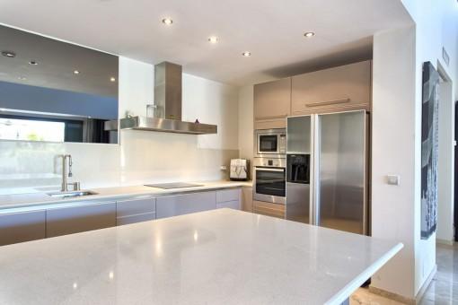 Alternativer Anblick von der Küche