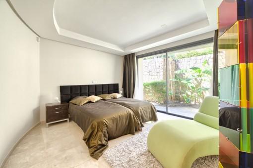 Ein weiteres Gästezimmer mit 2 Betten