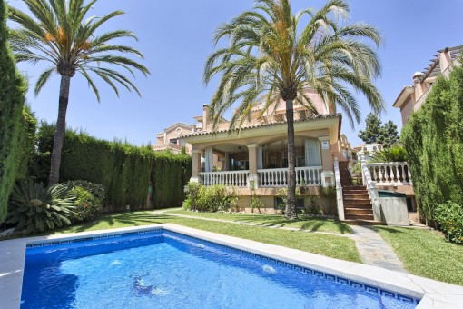 Geräumige, freistehende Villa im Zentrum von Marbella