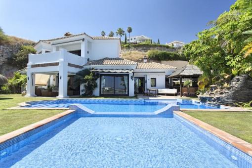 Elegante und gemütliche Villa in der Wohnanlage von La Resina, Benahavis