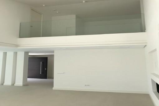 Blick zur oberen Galerie
