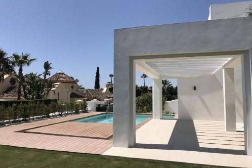 Zeitlose Villa im Zentrum von Marbella