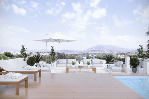 Aufwändige Villa mit 6 Schlafzimmern an der Golden Mile in Marbella