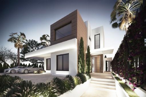 Extravagante Off-Plan-Villa in wundervoller Lage mit 5 Schlafzimmern in Marbella, Golden Mile