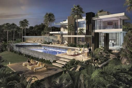 Großzügige Villa im Herzen der Marbella Golden Mile, ganz in der Nähe des weltberühmten Puerto Banus zu verkaufen