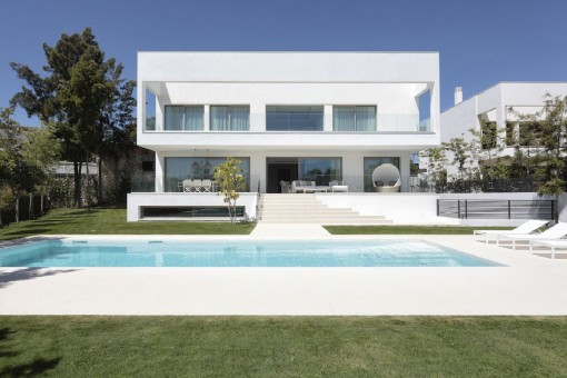 Wohnprojekt von 6 luxuriösen Villen im Herzen des renommierten Viertels Guadalmina Casasola