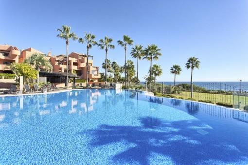 Schönes Penthouse direkt am Strand von Estepona