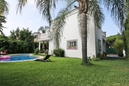 Sehr private und gemütliche Villa mit 3 Schlafzimmern in Mijas, Costa del Sol