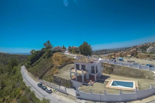 Komplett renovierte Villa mit Meerblick in Nueva Andalusien, Marbella