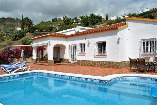 Gepflegte Finca mit Pool in Canillas de Albaida, Málaga