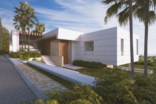 Moderne Neubauvilla mit 3 Schlafzimmern in Golfplatz Resort in Marbella Ost