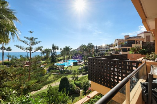 Atemberaubende Wohnung direkt am Strand in Estepona