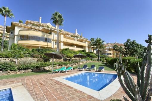 Schöne Wohnung in Golfumgebung in Marbella