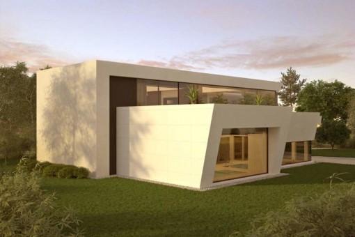Ultra moderne Luxusvilla mit 3 Schlafzimmern in Marbella West, kurz vor der Fertigstellung
