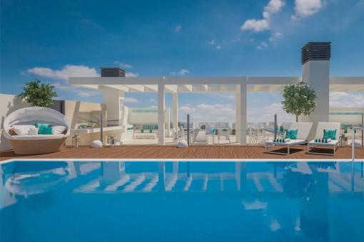 Hochwertiges Apartment im Zentrum von Málaga