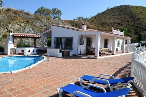 Traditionelle Finca mit Pool und BBQ-Bereich in Viñuela, Málaga