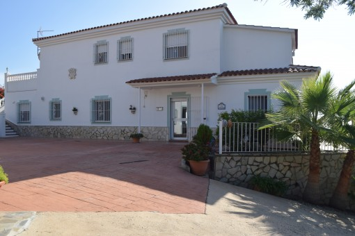 Traditionelle Finca mit Meerblick und beheiztem Pool in Sayalonga, Málaga