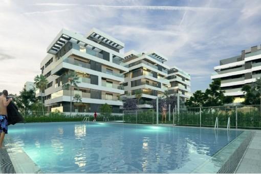 Qualitativ hochwertige Wohnungen in privilegierter Lage in einer der geschätztesten Gegenden von Málaga Stadt