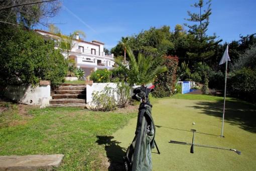 Golfplatz im Außenbereich