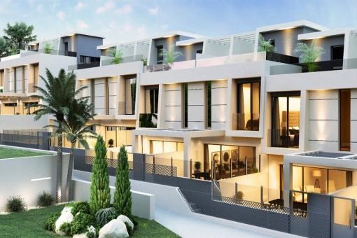 Einzigartige Wohnsiedlung, entworfen um den besten Lebensstil in Rincón de la Victoria / Málaga zu bieten