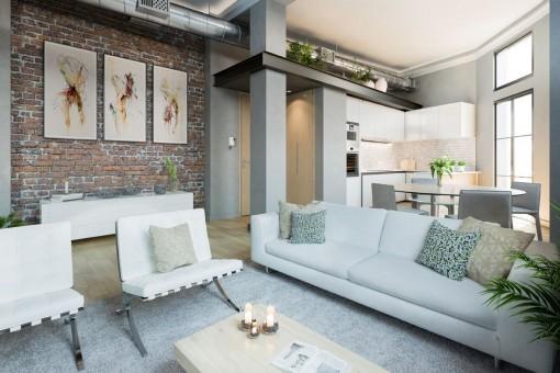 Qualitativ hochwertige Wohnungen in der Altstadt von Málaga, nur wenige Meter von den historischen Gebäuden entfernt